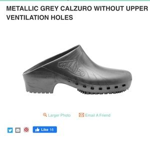 Metallic Grey Calzuro